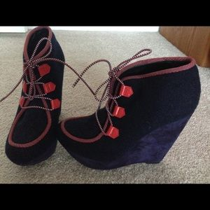 Rachel Roy Hayley platform shoes/booties